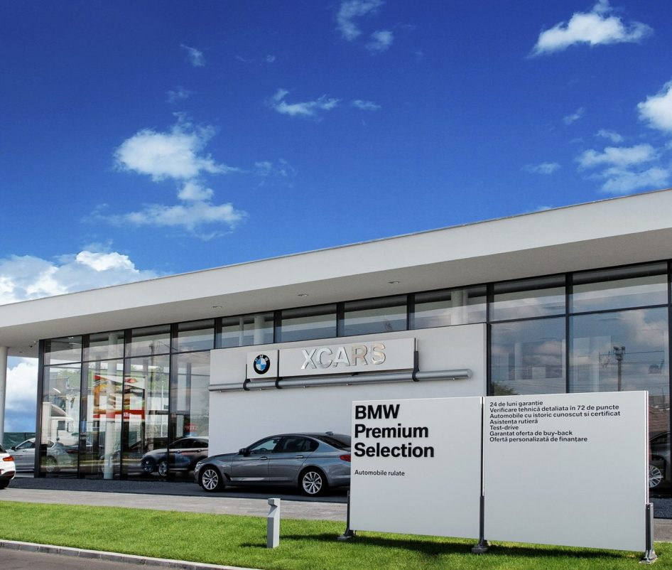 Showroom BMW XCARS Targu Mures